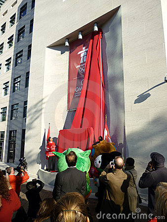 Unveiling at the Canadian Embassy Editorial Image