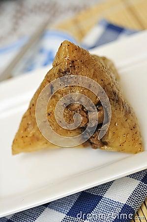 Unwrapped dumpling