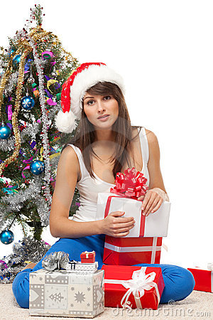 Unwrapping Xmas gifts