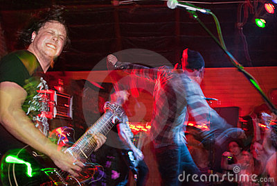 Unwritten Law Concert Editorial Photo