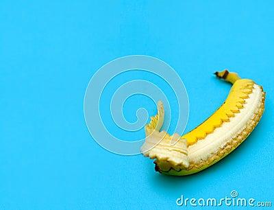 Unzipped Banana