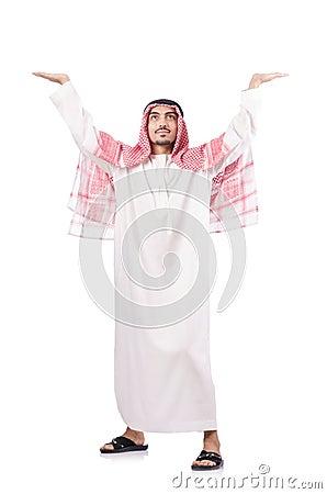 Uomo d affari arabo