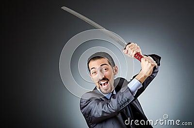 Uomo d affari arrabbiato