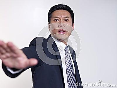 Uomo d affari asiatico