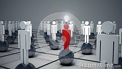 uomo lampadina : ... di Stock: Uomo dell icona, persona e una lampadina Concetto dell idea