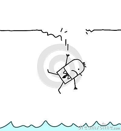 Uomo di caduta