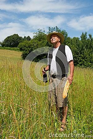 Uomo francese tipico