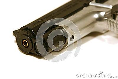 Up Close on a Gun