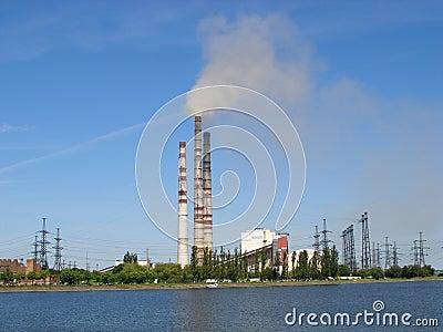 Upał i elektrownia