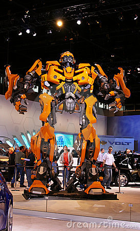 The upcoming Transformers 2 movie:BUMBLEBEE, Editorial Photography