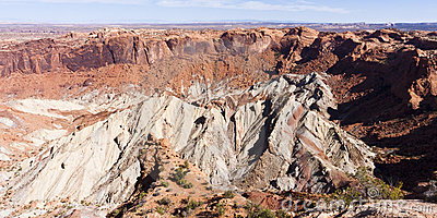 Upheaval Dome at Canyonlands National Park, Utah