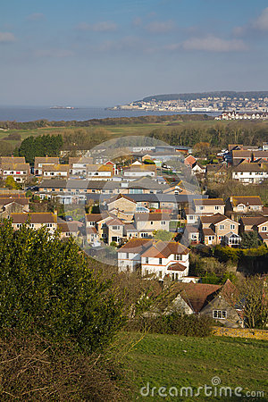 Uphill and Weston-super-Mare Somerset England
