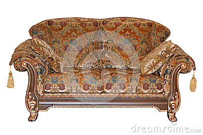 Upholstered furniture.