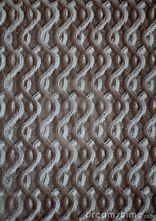 Upholstery fabric with embossed design