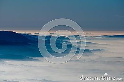 Upland haze