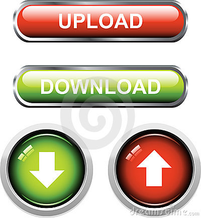 Upload / Download Buttons