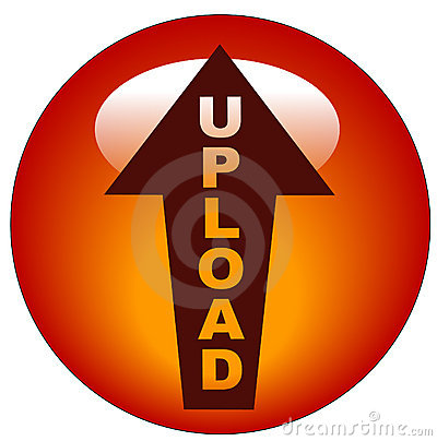 Upload icon or button