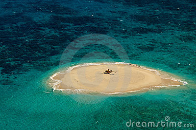 Upolu Cay Great Barrier Reef Helicopter Pad