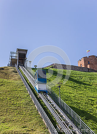 Upper castle museum funicular