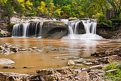 Upper Cataract Falls, Indiana