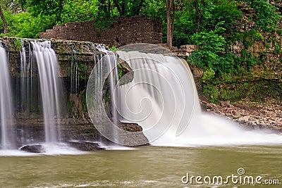 Upper Cataract Falls and Mill Ruins