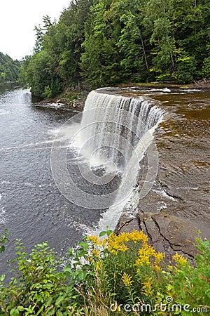 Free Upper Tahquamenon Falls Royalty Free Stock Photography - 21502307
