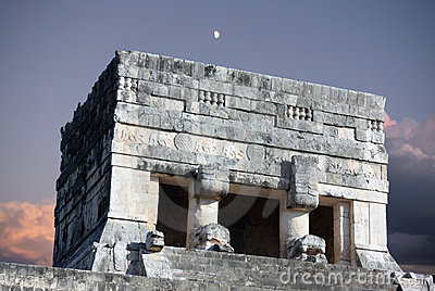 Upper temple of the jaguar