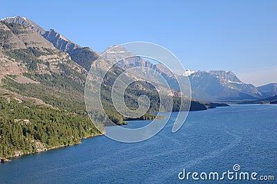 Upper waterton lake