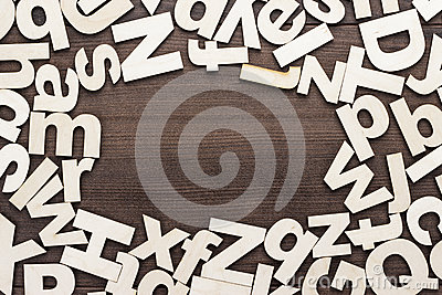 uppercase and lowercase wooden letters background stock photo image 41242340