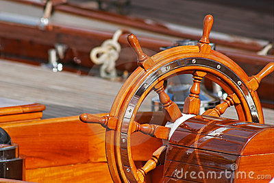 Upperworks of boat