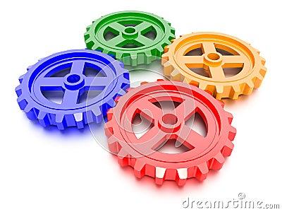 Uppsättning av kugghjul