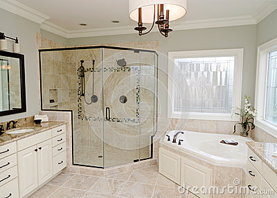 Upscale bathroom