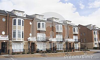 Upscale brick condominium