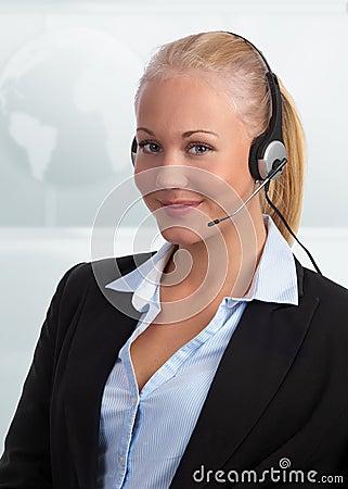 Upscale customer representative
