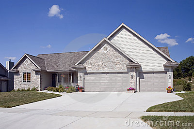 Upscale Home With Paved Drive