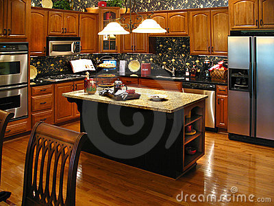 Upscale kitchen horizontal