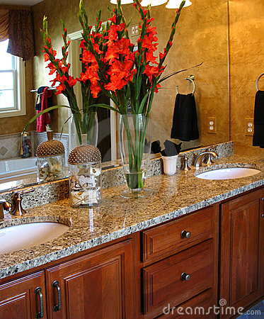 Upscale Master Bathroom
