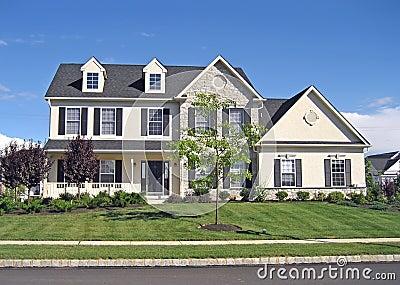 Upscale Suburban Home 2