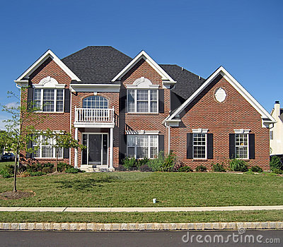 Upscale Suburban Home 6