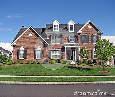 Upscale Suburban House 3