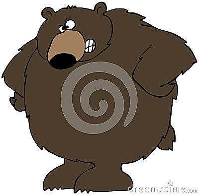 Upset Bear