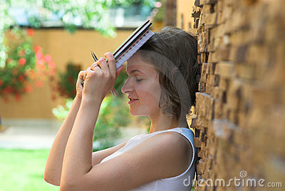 Upset student after exam failing