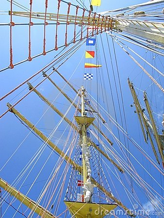 Upward Ship Masts