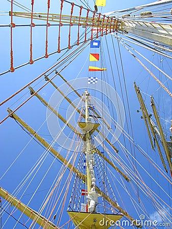 Upward Ship Masts