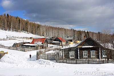 The Ural village.