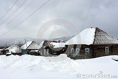 The Ural village.