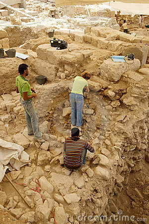 Urban Archaeology Editorial Stock Photo