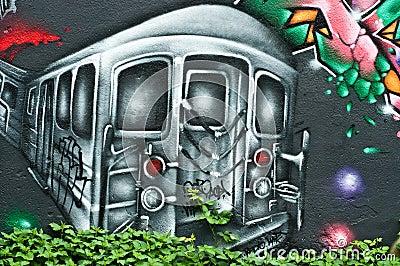 Urban Art Editorial Image