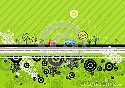 Urban background, vector
