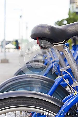 Urban bicycle parking